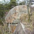 展望台の大岩