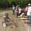 木こり体験学習