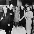 A. Hitchcock, R. Lesaffre, J.Williams, C.Vanel, G.Kelly, C.Grant, B.Aubert et R.Blancard