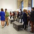 """Inauguración exposición  """"Línea de luz"""", Galería Bea Villamarín, Gijón"""