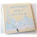 Gästebuch mal maritim - Buchausstattung nach Maß, mit Accessoires Ihrer Wahl.