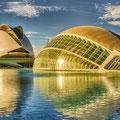 Valencia - die Stadt der Künste und Wissenschaften. Hier ist das größte Meeres-Aquarium beheimatet