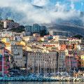Bastia - Hafenstadt mit exotischem Flair. Die Hafenstadt Bastia liegt an der Nordostküste der Insel Korsika