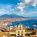 """Neapel - eine italienische Stadt wie keine andere ...! Allgegenwärtig - der """"Vesuv""""!"""
