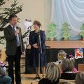 Begrüßung durch Elvira Gillert und Bürgermeister Helmut Meier