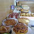 Das Kuchenbuffet