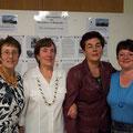 Die Ladies aus unserem Vorstand: Elvira Gillert, Tamara Leis, Anna Müller und Erika Genning