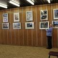 Организация выставки детского рисунка школьников Красногорского района в Звёздном городке. 13 октября 2011г.