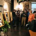 """На открытии выставки """"Царь приехал"""" 11 декабря 2013г. Экскурсия."""