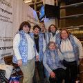В Сочи со 2-го по 4 –е ноября проходил Всероссийский фестиваль и выставка народной культуры ,на которой были представлены работы  семи членов творческого объединения красногорских художников «Лик».