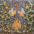 Мозаичное панно - работа детей Центра духовной культуры