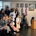 Конкурс чтецов на иностранных языках, февраль 2012г.