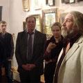 Открытие выставки Ивана Торопова. Январь 2013г.