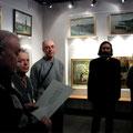 Открытие выставки Виктора Лукьянова март 2010г.
