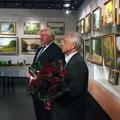 Выступление Б.Е.Рассказова на юбилейной выставке В.Г.Трубецкого 22 мая 2013г.