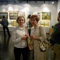 Открытие персональной выставки Виктора Алексеевича Христанова июнь 2010г.