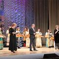Концерт посвящённый Дню работника культуры. 25 марта 2012г.