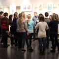 Мастер класс с учащимися красногорской художественной школы 6 марта 2014г.