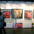 Выставка художников Александра Закальского и Татьяны Терентьевой апрель 2010г.