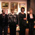 Открытие персональной выставки Елены Обуховой. Февраль-март 2011г.