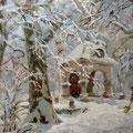 """Выставка Виктории Саввиновой """"Часовня"""" х,м 2007г."""