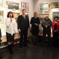 Открытие выставки художников из города Кимры 11 апреля 2012г.