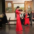 Выступление учеников красногорской музыкальной школы на презентациии. 8 октября 2014г.