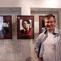 Марат Лялин на персональной выставке. 5 июня 2013г.