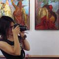Выставка Елены Стукалиной июль-август 2013г.
