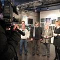 """Открытие выставки """"МИТЬКИ и КОСМОС"""". 16 февраля 2013г."""