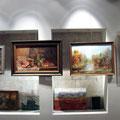 """Картины """"Рождественской выставки"""" ТО """"Лик"""", декабрь 2009г - январь 2010г."""