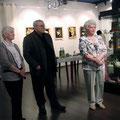 Открытие выставки Юрия Грозовского, Фёдоровой Н.Ю., Шендрик В.М. февраль 2010г.