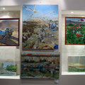 Картины на выставке Валерия Морозова май 2010г.
