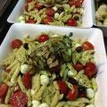 Salade de pennes au pistou, mozzarella et tomates cerise JAUDYS Traiteur
