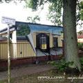 Illusionsmalerei auf Stromhaus und Hausfassaden