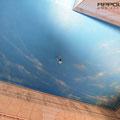 Flur neu gestalten mit airbrush malerei