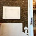 Illusionsmalerei in drei D optik auf Innenraumwand fürs Hotel / Zimmer