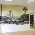 Büro neu gestalten mit Wandbilder