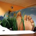 Graffiti für die Füße:)