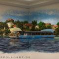 Graffiti Strausberg und Airbrush Malerei durch Graffitikünstler Seb