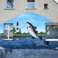 Graffiti · Graffitiaufträge · Fassadengestaltung · Airbrush · Wandgestaltung · illusionsmalerei · brandeburg · potsdam · Graffity · Raumgestaltung · Airbrushauftrag · Bilder · Montana · Kinderzimmer · Caravan · Wohnanhänger · Giebel · Malerei · Wohnungsba