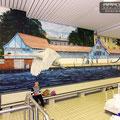 Hotel Fotorealismus im Wellness Sauna Schwimmbereich in der Schwimmhalle Strausberg bei Berlin