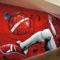 Bowling Bowlingbahn Graffiti