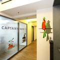Ag City mit Farbe an die Wand gemalt prinzessin Prinz Frosch