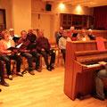 Proben mit Klavierbegleitung