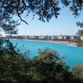 Blick auf die Bucht von Karaburun