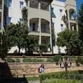 Gartenansicht vom Hotel Gardenia Beach