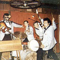 THE TROPICS - Tanzbar Pferdestall, Hagen - april 1965 vlnr: Benny Stevens - Rudy de Wilde - Hilmar Päck - Paul Pattynama