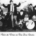 Rein de Vries & The Fire-Devils. Promotiefoto van Phonogram
