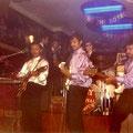 RUDY & THE ROYAL RHYTHMICS - Corona Nightclub, Nijmegen - ca. 1965 vlnr: Rudy van Dalm - Nic ? - Ger Euverink - Boy Tahalele